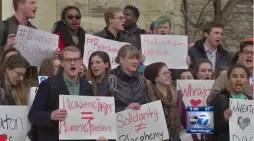 Hawkins Protest