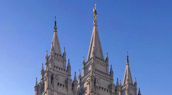 Utah Earthquake Causes Angel Moroni Atop Mormon Temple to Lose Trumpet