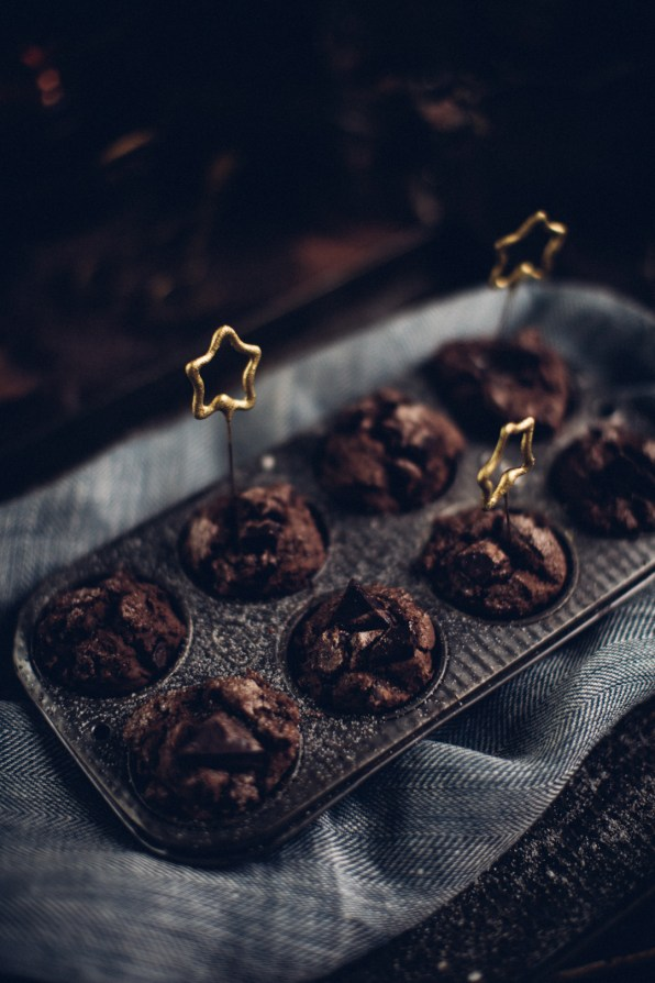 Chocolate Espresso muffins | Photography & Styling by Christiannkoepke.com-14