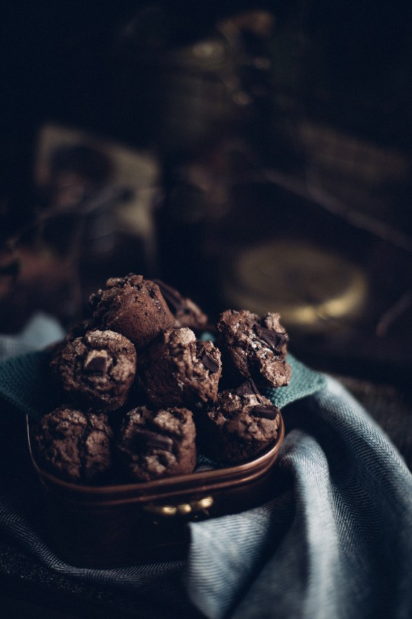 Chocolate Espresso muffins | Photography & Styling by Christiannkoepke.com-22