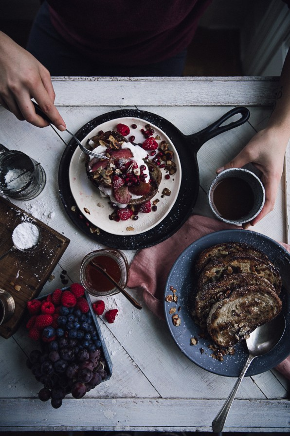 French toast with poached pears | Recipe, Photography & Styling by Christiannkoepke.com-20