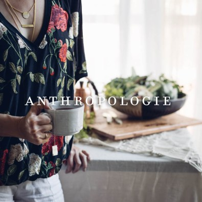 """Anthropologie - Brunch From Summer to Autumn: Setting A Table for the """"In-between"""" Season 