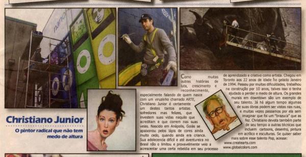 Jornal da Gente - Toronto - February 2009