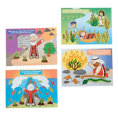 Bible stories Moses stickers