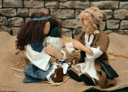 Nativity Holy Family dolls