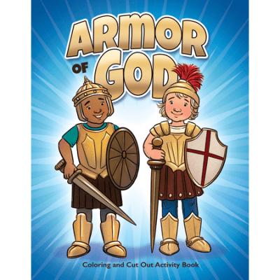 Full Armor of God activity book kids