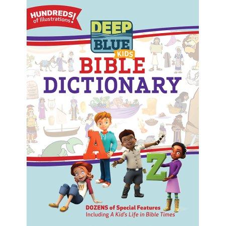 Deep blue Childrens Bible dictionary