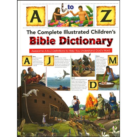 Kids Picture Bible Dictionary