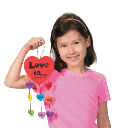 12 Christian Valentines Day mobile hanging crafts