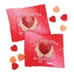 Religious Valentine day gummy candy packs
