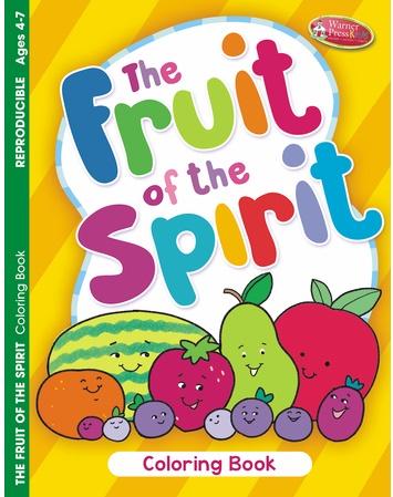 Christian Fruit of Spirit coloring fun book