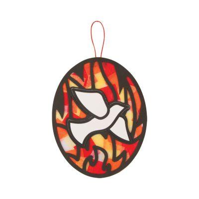 12 Pentecost Holy Spirit ornament dove craft kit