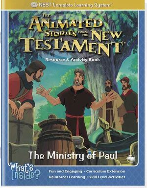 Disciple Paul Instant download activity book