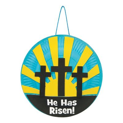 Paper Plate Resurrection Easter crafts