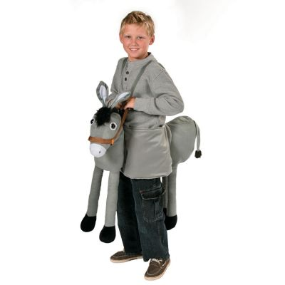 Ride on Donkey plush costume kids
