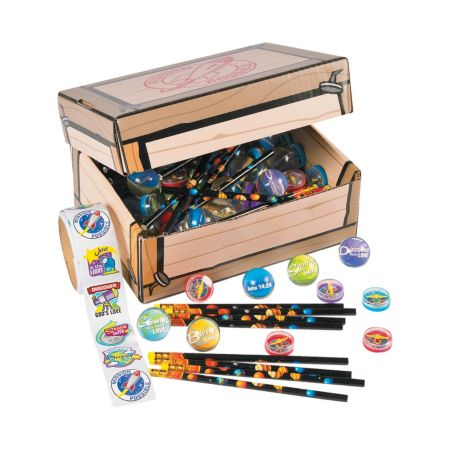 Vacation Bible school treasure chest and giveaways bundle