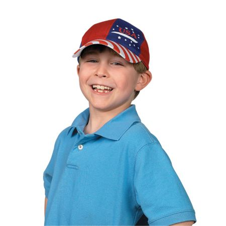 12 July 4 Patriotic baseball cap