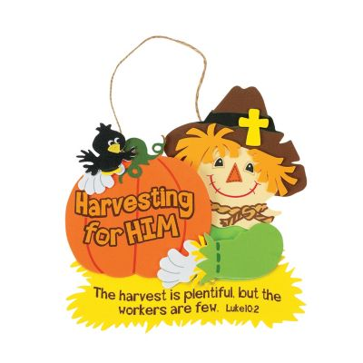 Scarecrow Christian Fall craft ideas