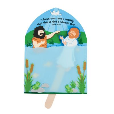 Jesus is Baptized craft kits