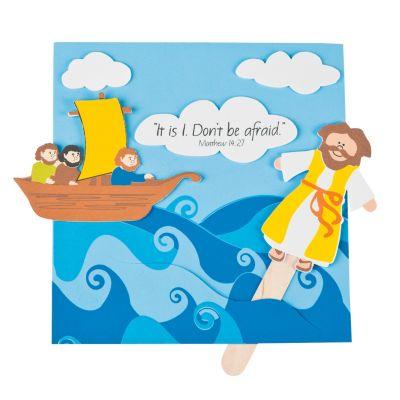 Jesus walking on water crafts
