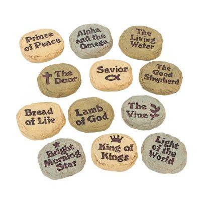 Jesus Christ sentiments worry stones
