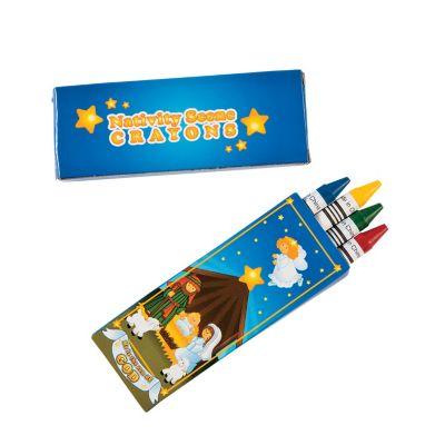 Christian Christmas bulk crayon packs