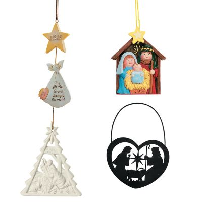 48 Religious Christmas ornaments gifts