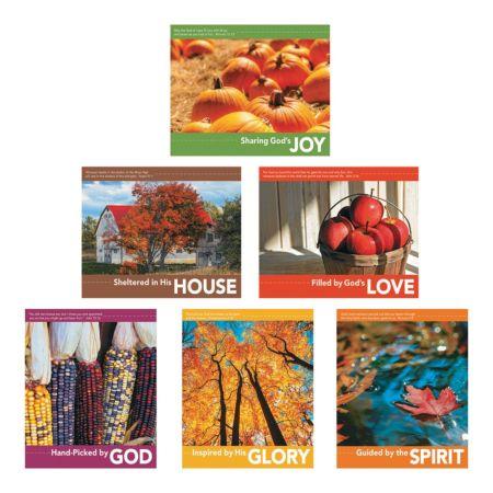 Christian Fall Harvest Festival Posters