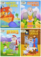 Bulk Bible story fun books kids