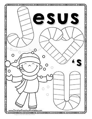 Snow Themed Bible Printables
