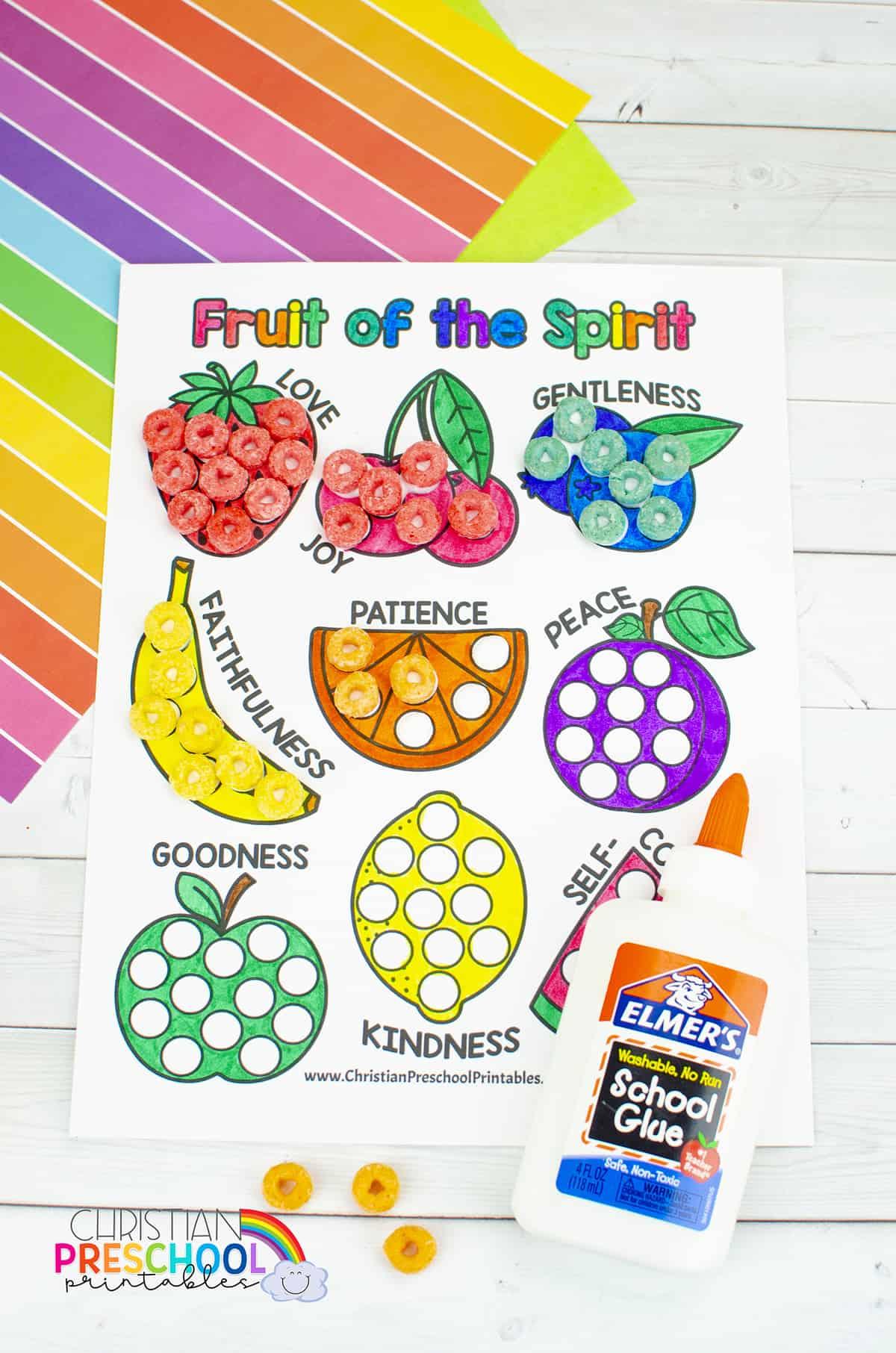 Fruitofthespiritcoloringpageprintables