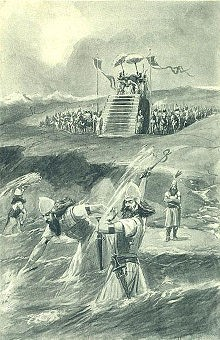 Xerxes alleged punishment of the Hellespont