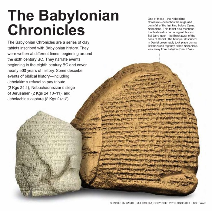 the-babylonian-chronicles - The Babylonian Chronicle