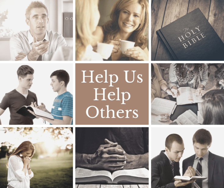 Help Us Help Others - Donations