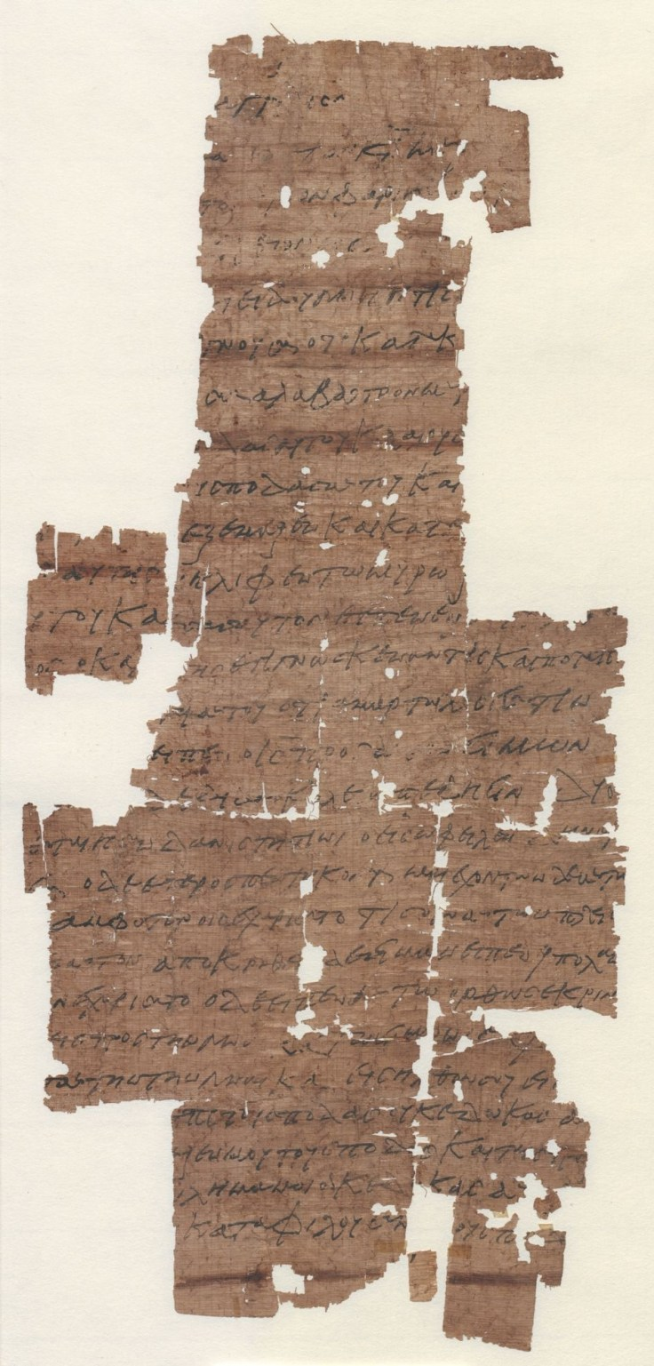 PAPYRUS 3 Recto