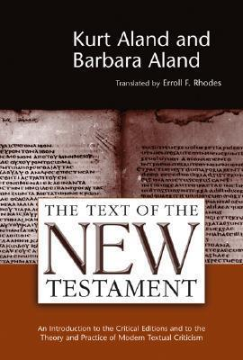Text of the New Testament Alands