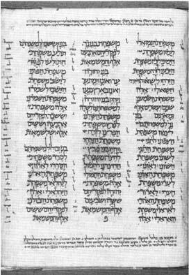 oldest Masoretic MSS
