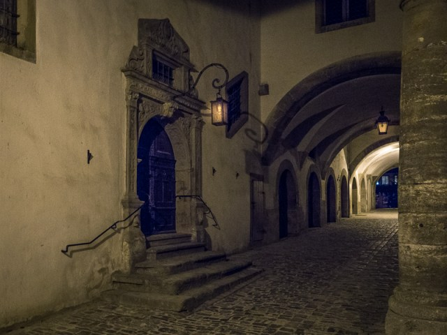 Nächtliche Gasse / Nightly Alley