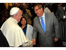 Rick Warren and Pope Francis