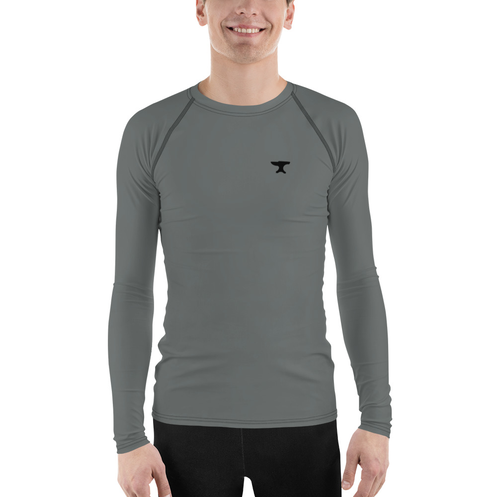 Grey Anvil Men's Rash Guard