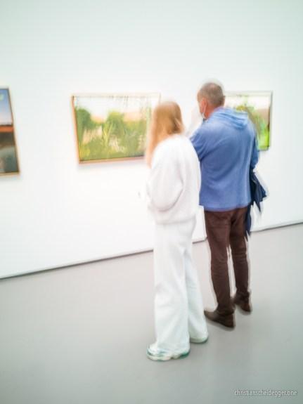 Übermalte Landschaften - Gerhard Richter im Kunsthaus Zürich