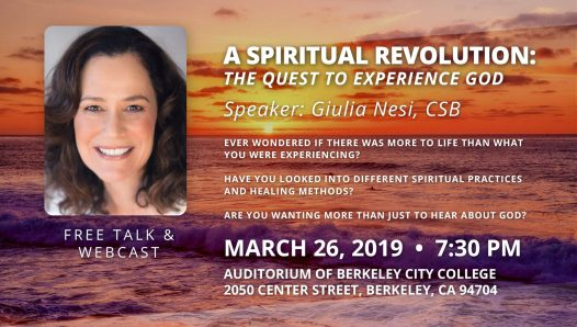 A Spiritual Revolution: the Quest to Experience God