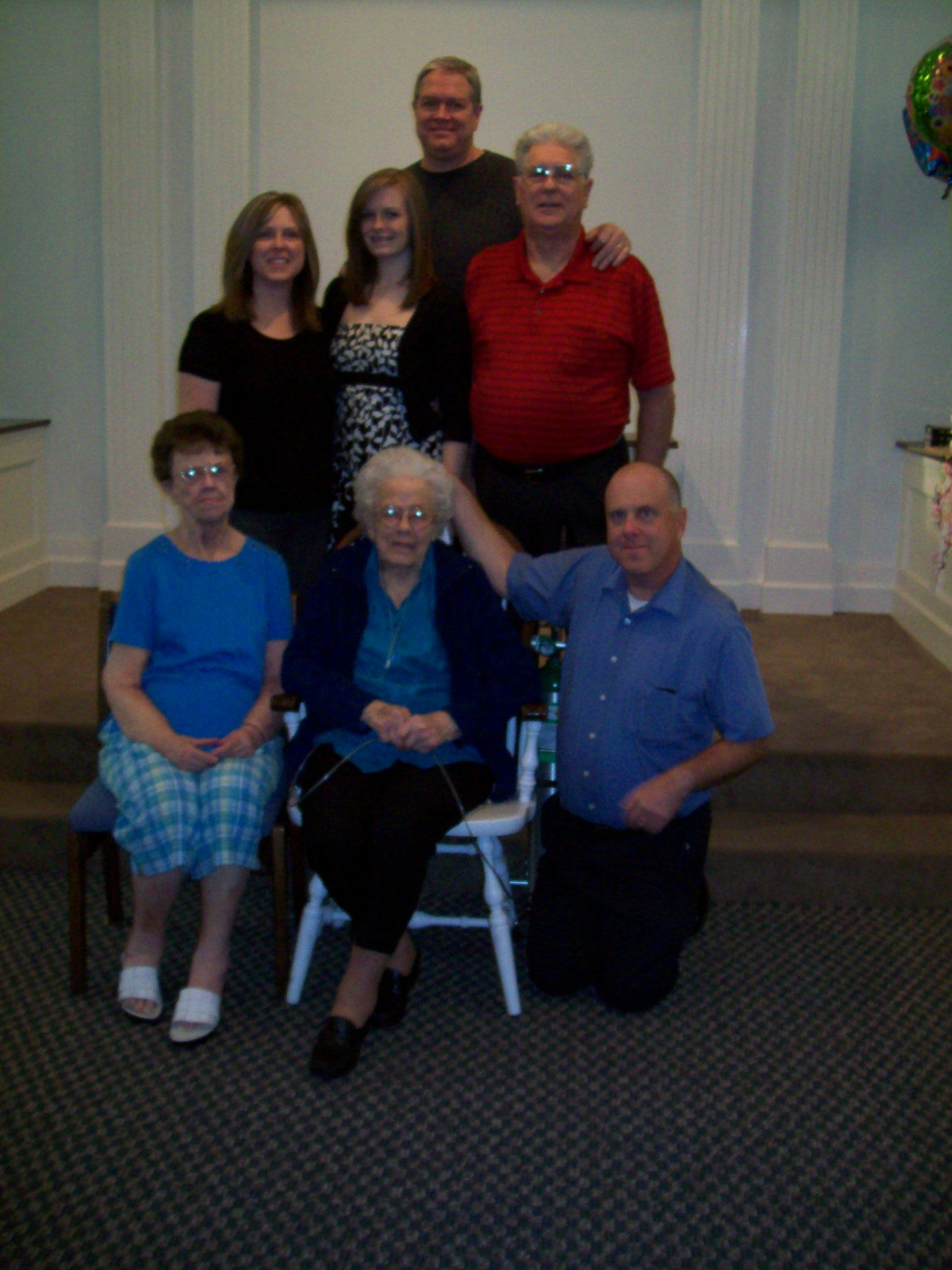 Grandma's 100th Birthday 009