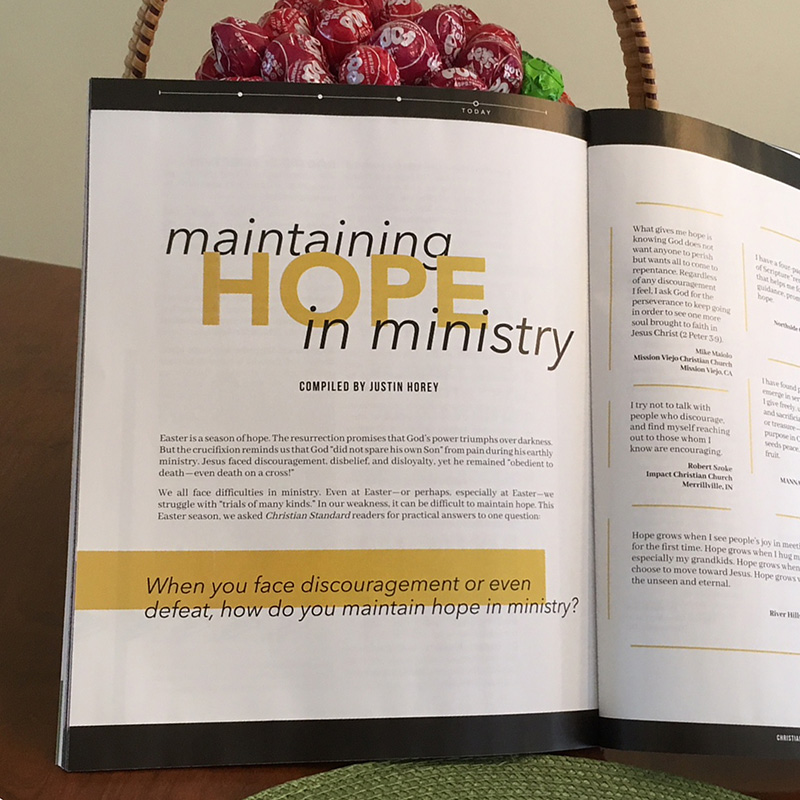 Maintaining Hope in Ministry