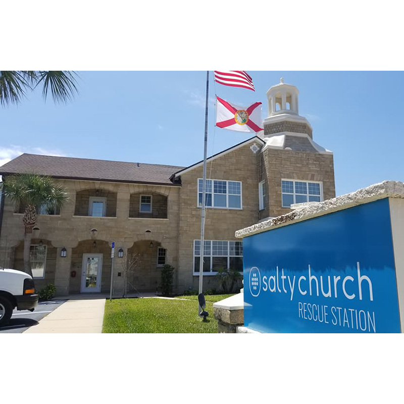 Salty Church Rescue Station a 'Symbol of Hope' (Plus News Briefs)