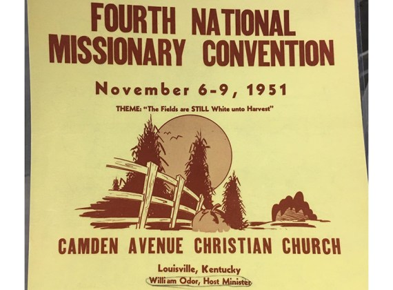 Early Reporting on the Missionary Convention