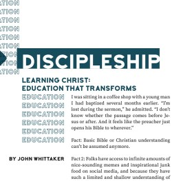 Learning Christ: Education That Transforms