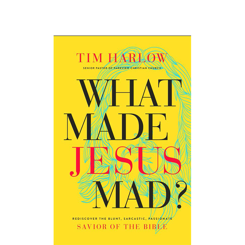 In New Book, Harlow Examines 'What Made Jesus Mad'