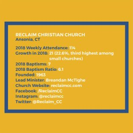SPOTLIGHT: Reclaim Christian Church, Ansonia, Conn.