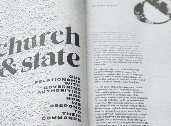 Church & State: Our Relationship with Governing Authorities and How We Respond to Their Commands